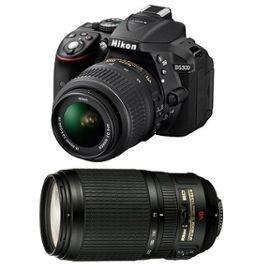 Nikon D5300 (Noir) + 18-55mm + 70-300mm