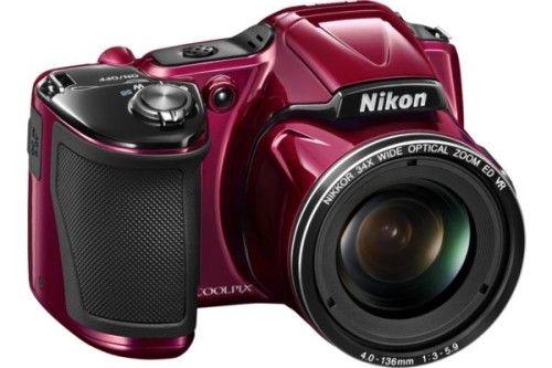 Nikon Coolpix L830 (Rouge)