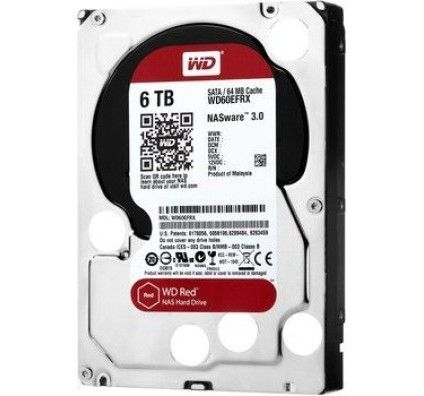 WD 6To S-ATA III 64Mo Red Desktop - WD60EFRX