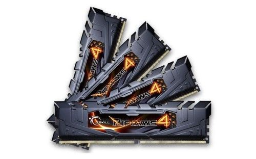G.Skill Ripjaws 4 Black DDR4-2400 CL15 32Go (4x8Go) - F4-2400C15Q-32GRK