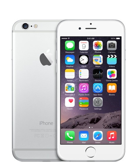 Apple iPhone 6 - 64Go (Argent)
