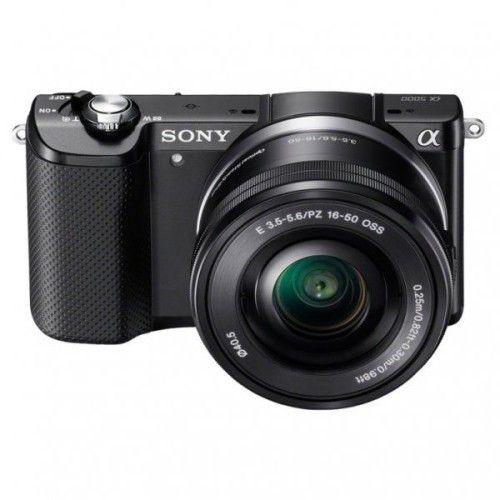 Sony Alpha 5000 Noir + 16-50mm