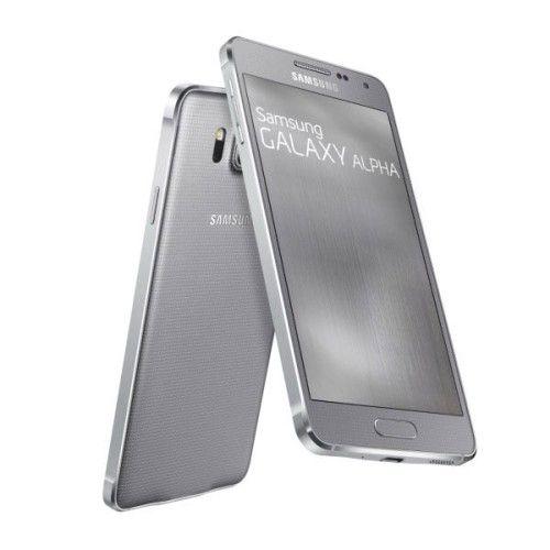 Samsung Galaxy Alpha (SM-G850) - Argent