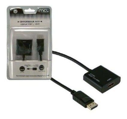 MCL Samar Adaptateur actif DisplayPort Mâle / HDMI Femelle