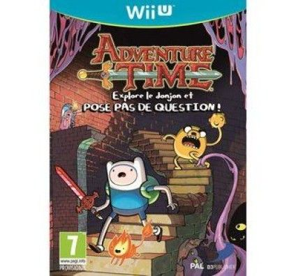 Adventure Time Explore le donjon et POSE PAS DE QUESTION ! - Wii U