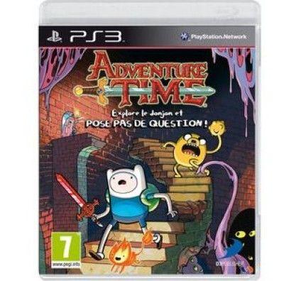 Adventure Time Explore le donjon et POSE PAS DE QUESTION ! - Playstation 3
