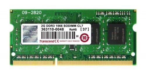 Transcend So-Dimm PC3-8500 2Go CL7 (TS256MSK64V1N)
