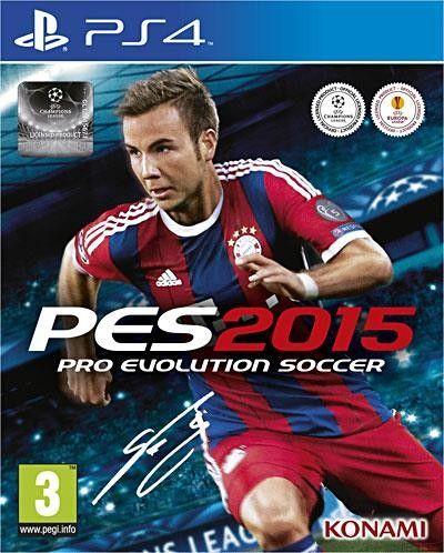 PES 2015 : Pro Evolution Soccer 2015 - PS4