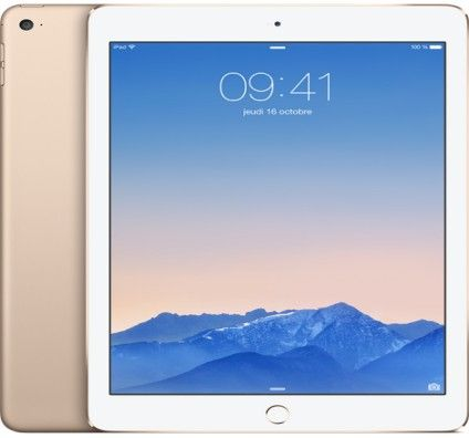 Apple iPad Air 2 16Go Wifi (Or)