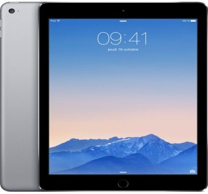 Apple iPad Air 2 64Go Wifi + Cellular (Gris Sidéral)