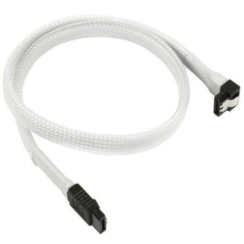 Nanoxia Cable SATA III 6Gb/s 45cm (Blanc)