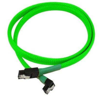 Nanoxia Cable SATA III 6Gb/s 60cm (Vert Fluo)