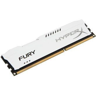 Kingston HyperX Fury White DDR3-1866 CL10 4Go
