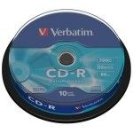 Verbatim CD-R 700Mo Extra Protection (Spindle x10)
