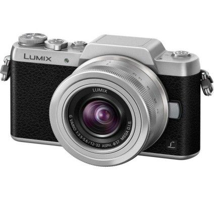 Panasonic Lumix DMC-GF7 (Argent) + 12-32mm