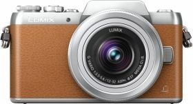 Panasonic Lumix DMC-GF7 (Marron) + 12-32mm
