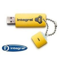 Integral Splash Drive 8Go (Jaune)