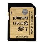 Kingston SDXC 128 Go - UHS-I Classe 10 - SDA10/128GB