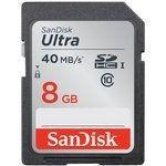 SanDisk SDHC Ultra UHS-1 8 Go