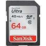 SanDisk SDXC Ultra UHS-1 64 Go