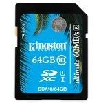 Kingston SDXC 64 Go - UHS-I Ultimate Classe 10