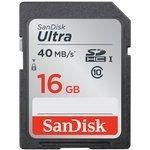 SanDisk SDHC Ultra UHS-1 16 Go