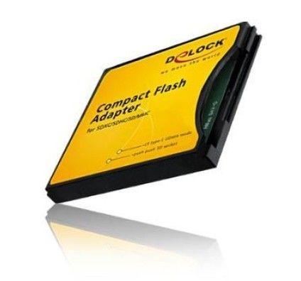 Delock Adaptateur CompactFlash pour SD / MMC