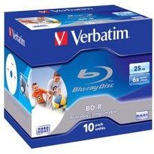 Verbatim 10 BD-R - 6x Imprimable - 25 Go