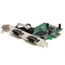 StarTech.com Carte Série RS232 PCI Express avec 2 ports