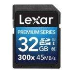 Lexar Premium SDHC 32 Go 300x (45Mo/s)