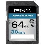 PNY Performance SDXC 64 Go (30Mo/s)
