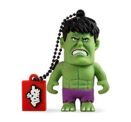 Tribe Clé USB Marvel Hulk - 8 Go