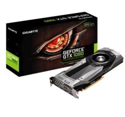 Gigabyte GeForce GTX 1080 Founders Edition - 8 Go