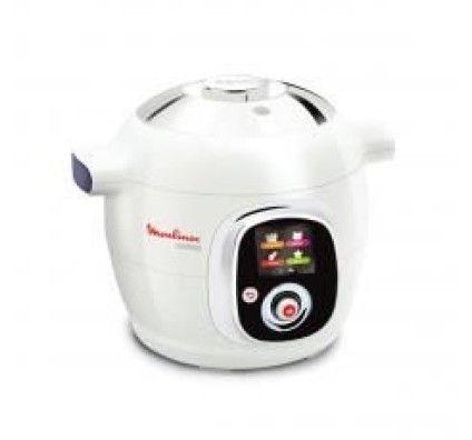 Moulinex Multicuiseur intelligent Cookeo 100 recettes CE704110