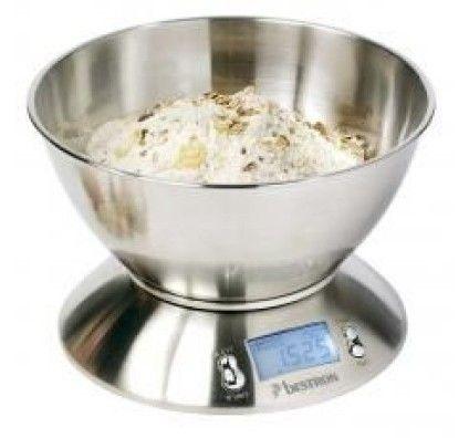 Bestron Balance de Cuisine Numérique Inox - DEK4150