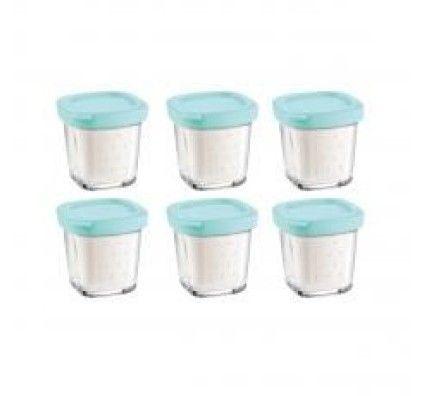 Seb 6 pots yaourt avec égouttoir Delices Box XF100101