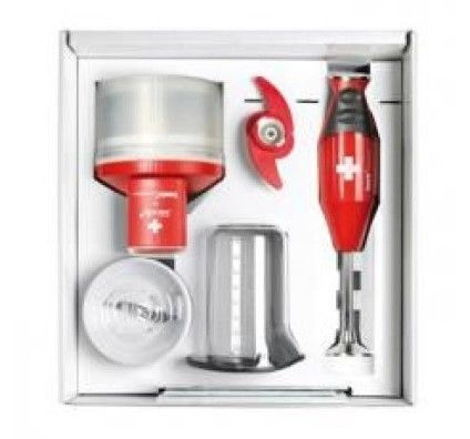 Bamix Mixeur Plongeant Red Box Edition Collector - MX105077
