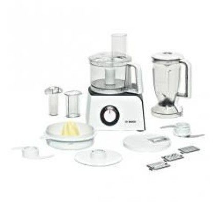 Bosch Robot culinaire ultra compact 800 W Blanc/Anthracite - MCM4100