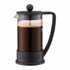 Bodum Brazil - Cafetière à piston 3 tasses 0.35 L (noir)