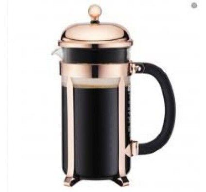 Bodum Chambord - Cafetière à piston 8 tasses Cuivre