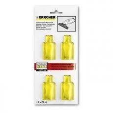 Kärcher Nettoyant vitres concentré 4 x 20 ml pour Nettoyeur de vitres WV