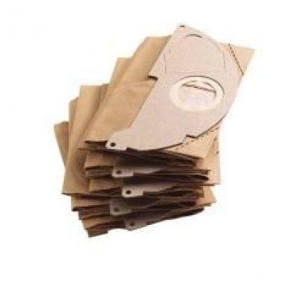 Kärcher 5 sacs filtrant papier pour A2003/2054Me & WD2200 - 69043220
