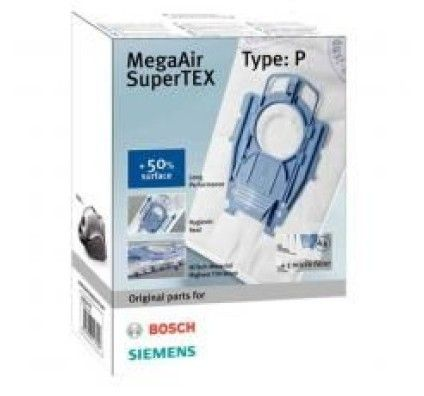 Bosch 4 x sacs aspirateurs MegaAir SuperTex, type BBZ41FP