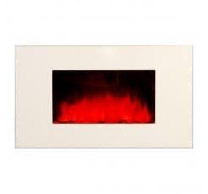 Chemin'arte Cheminée Design White Loft 2000 W