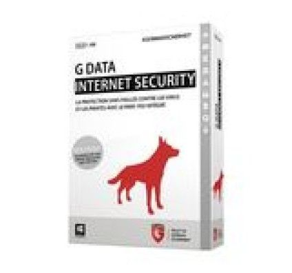 G Data Internet Security 2015 - Licence 1 an 3 postes