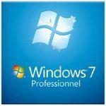 Microsoft Windows 7 Professionnel SP1 64 bits - OEM (DVD) - FQC-04649