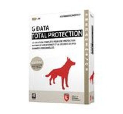 G Data Total Protection 2015 - Licence 1 an 3 postes