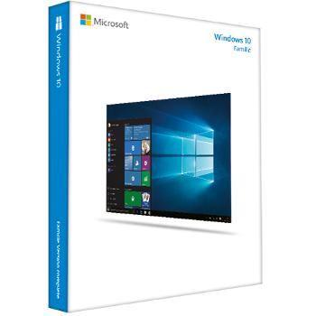 microsoft windows 10 home 32 64 bits version cl usb logiciels pc acheter au meilleur prix. Black Bedroom Furniture Sets. Home Design Ideas