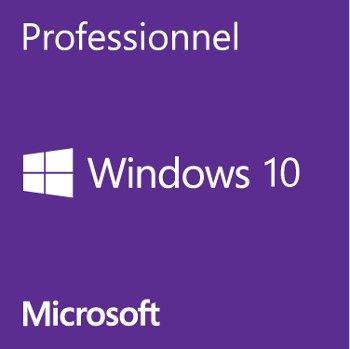 Microsoft Windows 10 PRO 32/64 bits - Version clé USB