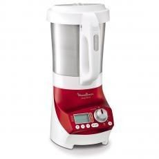 Moulinex Blender Chauffant Soup & Co 1100 W 2 L Blanc/Rouge - LM906110